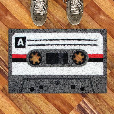 Tape A Doormat from Meninos. Cool retro cassette doormat, Novelty Gift