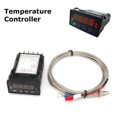 12v Dc 132din Digital Fc Pid Temperature Controller With K Thermocouple Ssr