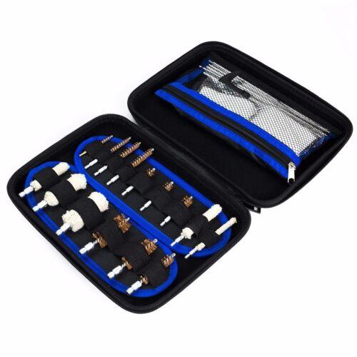129pc Gun Cleaning Kit Universal Rifle Pistol Shotgun Firear