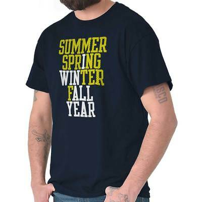 Summer Spring Winter Fall I Win Champion Winner Joke Gym Classic T Shirt -
