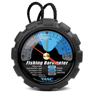 Trac T3002 Fishing Barometer, New, Free Shipping
