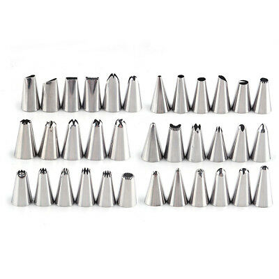 - 35pcs Stainless steel Icing Piping Nozzle Pastry Tip Cake Decorating Tool Set
