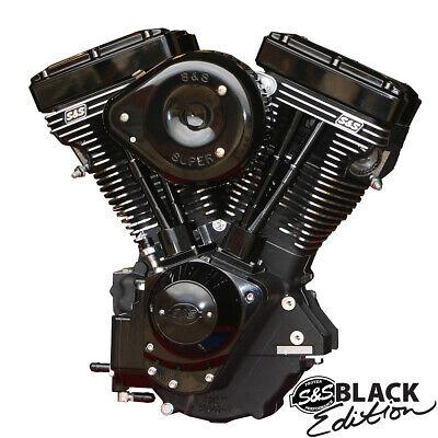 S&S Cycle - 310-0828 - V111 Long Block Engine, Black
