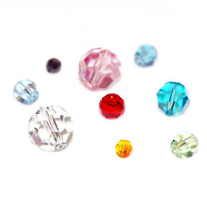 Swarovski-Crystal-Element-5000-Round-Faceted-Bead-Many-Color-Size-4