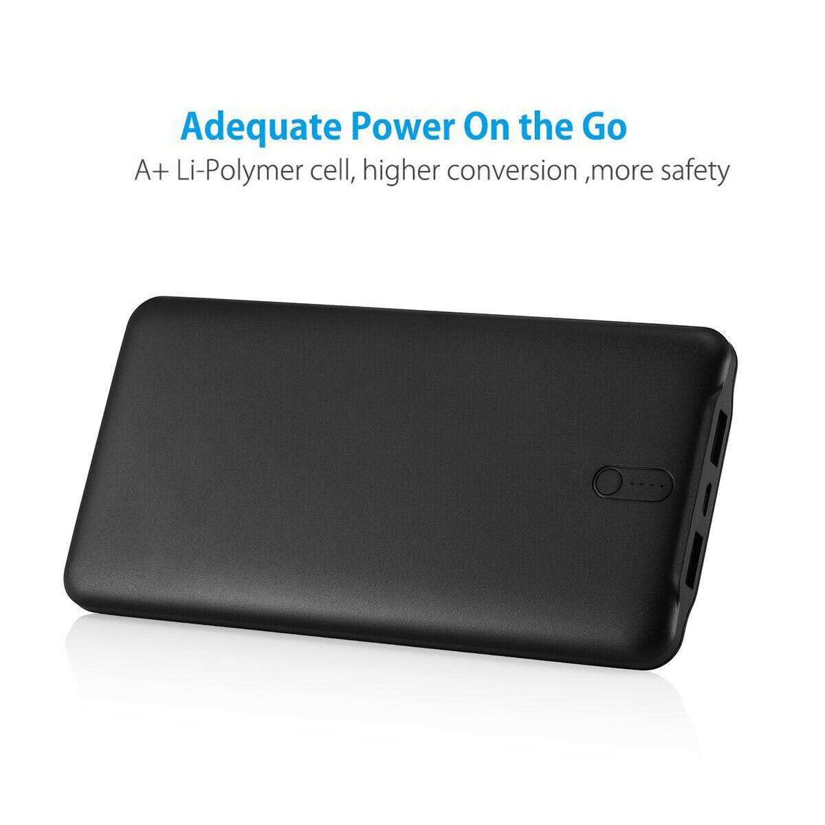 Portable 50000mah Power Bank Backup Dual USB Battery Fast Charger For Cell Phone