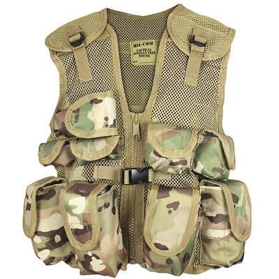 KINDER Kinder Kostüm Armee Soldat Style Gurtband Tarnung Assault - Tarnung Kostüm Kinder