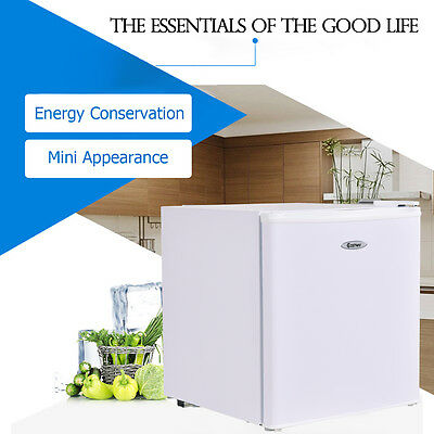 Single Door Refrigerator Small Freezer Cooler Fridge Compact 1.7 cu ft. Unit