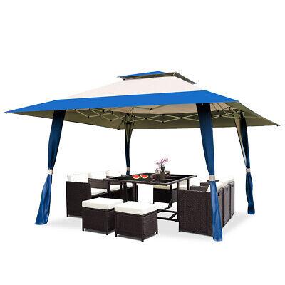 13'x13' Folding Gazebo Canopy Patio Outdoor Tent Beach P