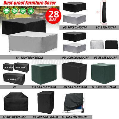 Garden Furniture - AU 28 Size Waterproof Outdoor Patio Garden Furniture Rain Snow Cover Table