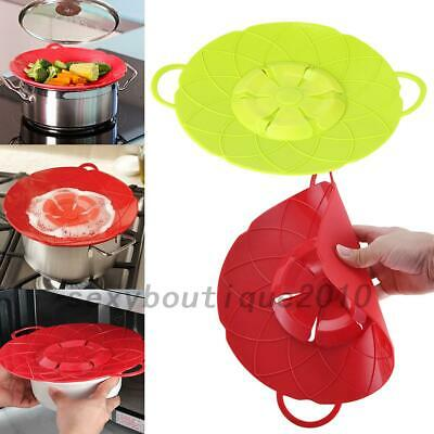 Silicone Anti-overflow Handy Lid Kitchen Gadgets Spill Stopper Pot Cover 25.8cm Handy Kitchen Gadgets
