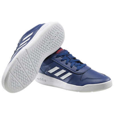 Adidas Boys Tensaur Navy Tennis Shoes