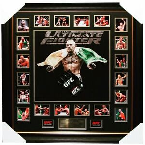 Connor McGreggor Signed UFC glove framed.