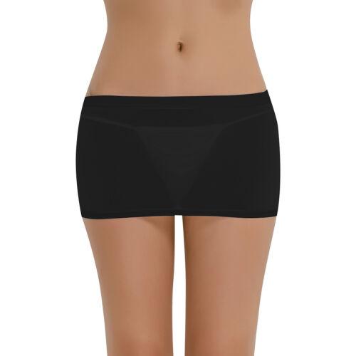 8bd46f77e Womens Patent Leather Short Mini Skirt Waist Belt Party Skirt Nightwear  Clubwear