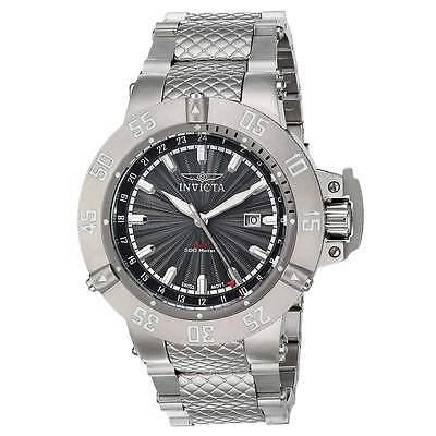 $142.48 - Invicta 21727 Men's Subaqua Gunmetal Dial GMT Steel Bracelet Watch