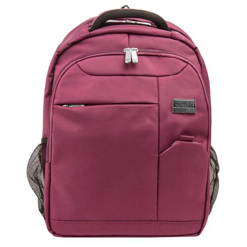 "Purple VanGoddy Germini Laptop Backpack Carry Bag for 15""-15"