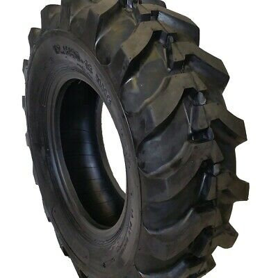 2-tires 12.580-18 New Road Crew 14 Ply R4 Front Farm Backhoe Tire1258018
