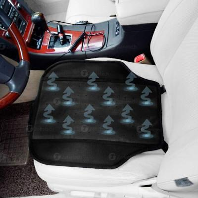 Zone Tech Car Vehicle Pad Seat Cooler Cushion Cover Summer Cooling Chair Fan Summer Seat Cushion