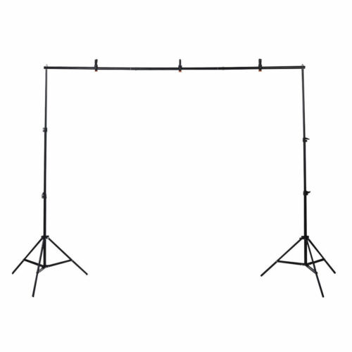 10Ft Adjustable Background Support Stand Photo Backdrop Crossbar PhotographyKit