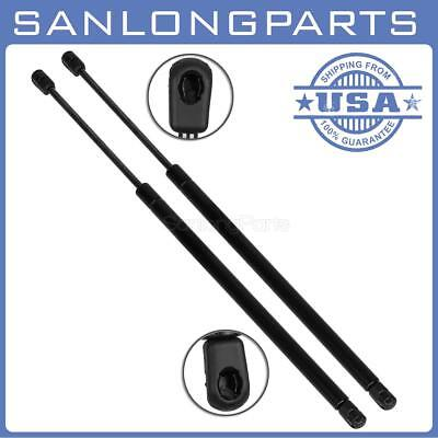 Qty2 6187 Liftgate Lift Support Strut Spring Rods Fits Jeep Compass W/O Speaker