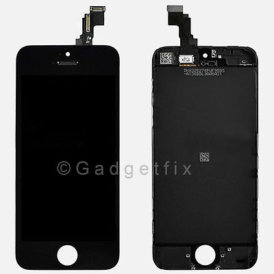 US Black Front Housing LCD Display Touch Digitizer Screen Assembly for iphone 5C