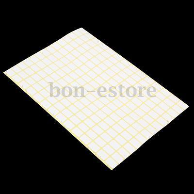 196x15 Sheet White Sticky Labels 9 X13mm Price Stickers Tags Blank Self Adhesive