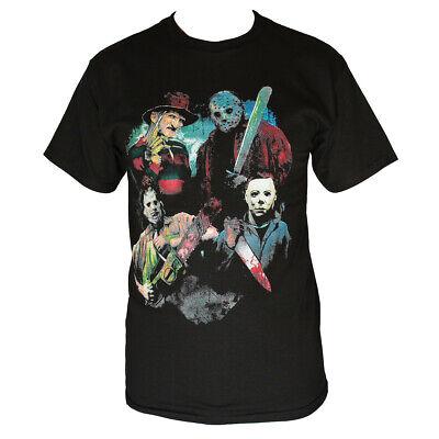 T Shirt Halloween (JASON/FRIENDS HALLOWEEN   MEN'S T-SHIRT BLACK)