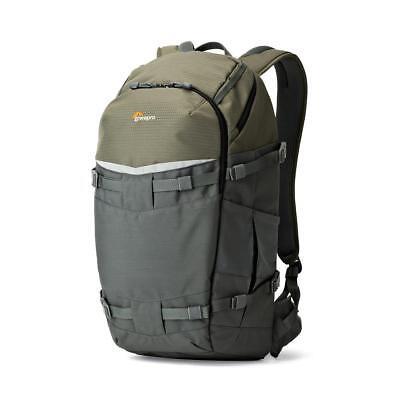 Lowepro Flipside Trek BP 450 AW Backpack, f/Pro DSLR, DJI Mavic, Gray/Dark Green