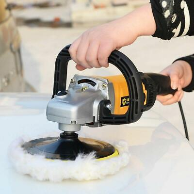 """Hot 7"""" Auto Car Paint Polisher/Buffer Waxer 110V 1200W Electric 6 Variable Speed"""