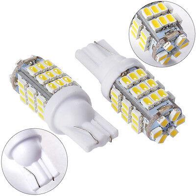 2PCS T10 Cool White Car 42SMD Backup Reverse LED Light Bulb 921 912 906 168 W5W
