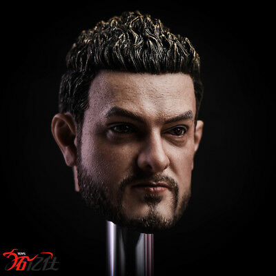 Tys Toys 1/6th Male Head Sculpt COS Indian Best Actor Fit Phicen / TBleague
