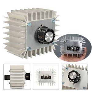 5000W 220V AC SCR Voltage Regulator Dimmer Electric Motor Speed Controller