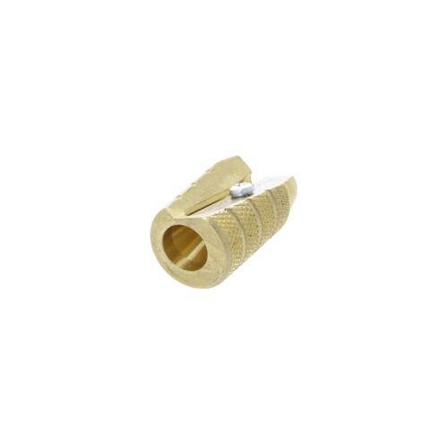 Mobius + Ruppert (M+R) Brass Artists Pencil Sharpener Germany 604-Bullet/Grenade