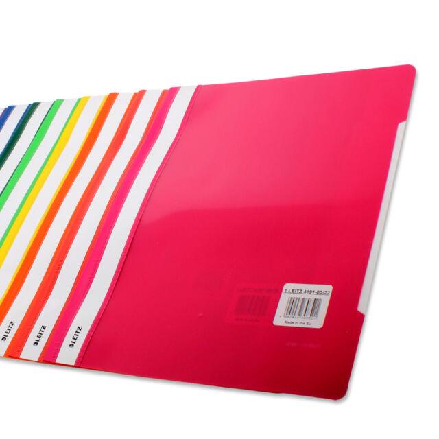 Schnellhefter Hefter Ordner LEITZ 4191 Kunststoff 13 Farben Rabatt bei 5 oder 10
