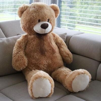 XXL Teddybär Bär 1m groß Kuscheltier Teddy kuschelweich Weihnachten
