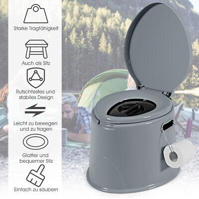 Campingtoilette tragbar Reisetoilette Mobile Toilette Wandern und Reisen gebraucht kaufen  Hamburg