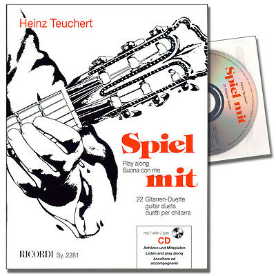 Spiel mit - 22 Gitarrenduette - Heinz Teuchert - SY2281 - 9990050065863