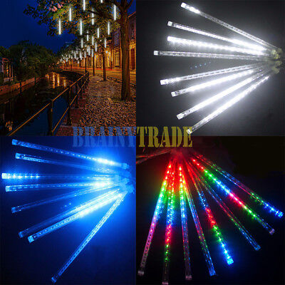 8x Meteor Shower Falling Star/Rain Drop/Icicle Snow LED Xmas Tree String Light