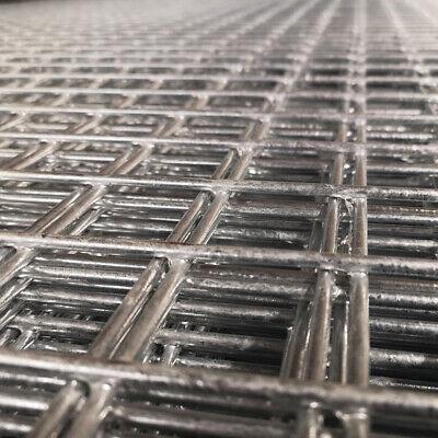 Premium Galvanised Wire Mesh Panel | 6 Gauge | 2.44m x 1.22m | 2