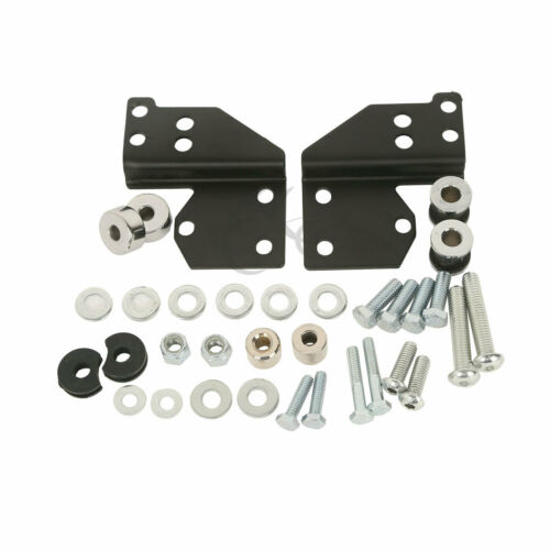 2007 Replace 53803-06 TCT-MT Detachable Front Docking Hardware Kit Fit For Harley Touring 1997-2008 Road King FLHR Road Street Electra Glide Classic FLHRC FLHX FLTR EFI FLHRCI FLHTI FLHT
