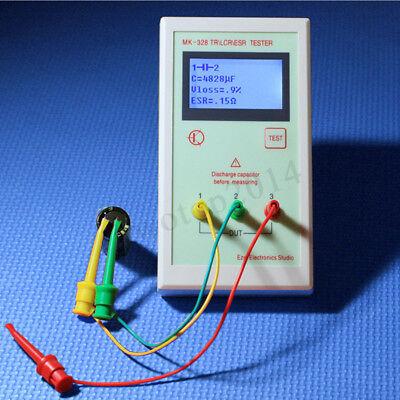 MK328 LCR ESR Tester Transistor Inductance Capacitance Resistance Meter -