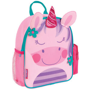 265513158b93 Stephen Joseph Girls Unicorn Mini Backpack - Cute Kids School Bags - Toddler