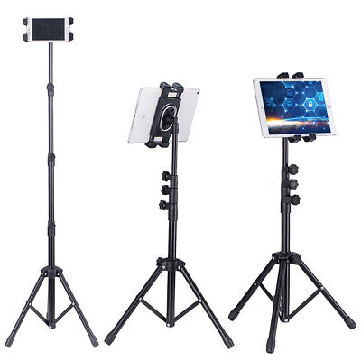 """54"""" Floor Bed Lazy Mount Tablets Tripod Stand For iPad Air Pro Samsung 12.9"""" USA"""