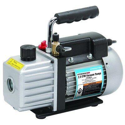 New Ac A C Rotary Vane Vacuum Pump 2.5 Cfm Hvac