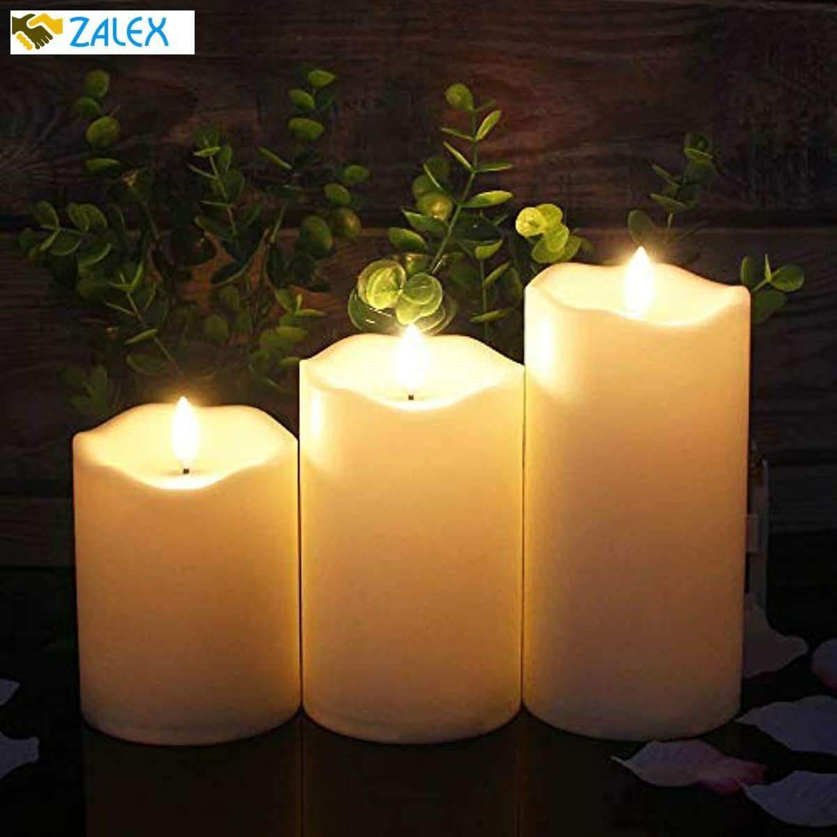 Upgraded Flickering Flameless Candles, Most Realistic ...