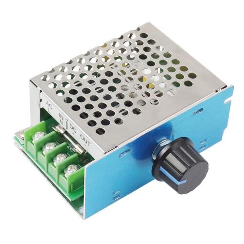 AC 110V 220V to DC 10-230V SCR Motor Speed Controller Voltage Regulator Dimmer