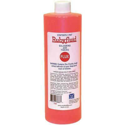 Superior Flux Rubyfluid 16 Oz. Soldering Flux Liquid Rfl1pt - 1 Each