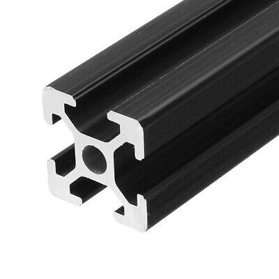 2020 T-slot Aluminum Profiles Extrusion Frame 600mm Black For 3d Printer Cnc
