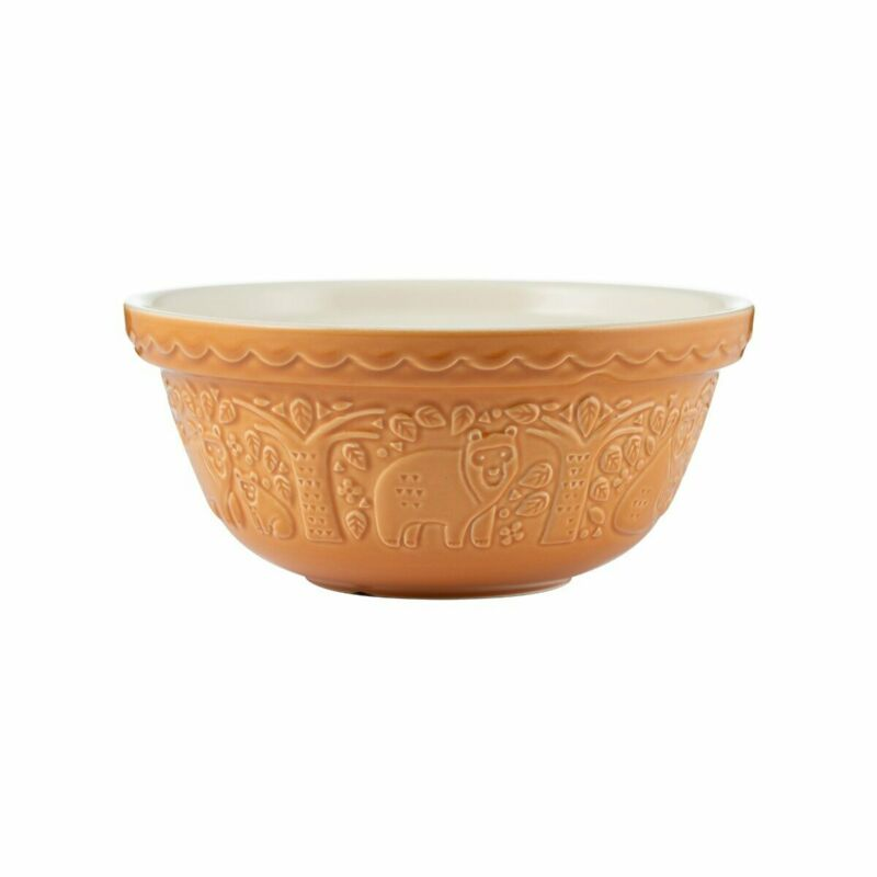 Mason Cash   In the Forest S24 Bear Embossed Mixing Bowl - 2.15 Quart