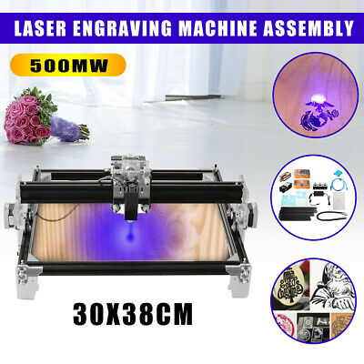500mw 30x38cm A3 Mini Diy Laser Engraver Engraving Machine Cnc Printer Cutting