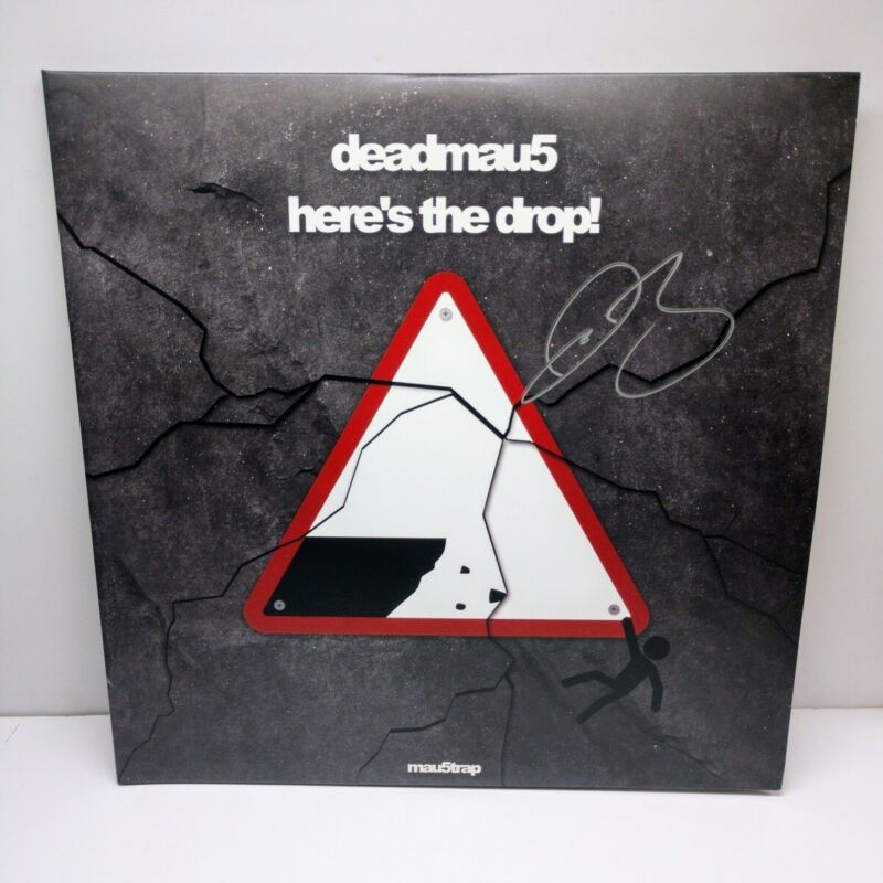 "DEADMAU5 JOEL ZIMMERMAN signed ""Here"